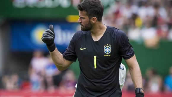 Real Madrid step up their bid to sign Alisson