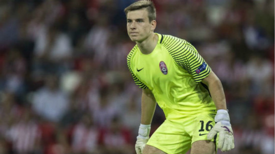 Real Madrid sign goalkeeper Andriy Lunin