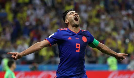 Poland 0 Colombia 3: Falcao's maiden World Cup goal revitalises Pekerman's side