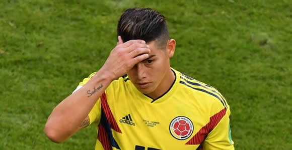 James Rodriguez injury: Will Colombia star be fit for England last 16 match?