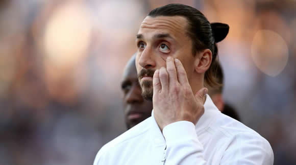 Three Lions for the lion? Beckham photoshops Ibrahimovic after World Cup bet win