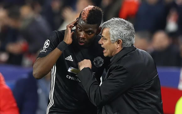 Paul Pogba offered to Barcelona to escape Man United, Jose Mourinho