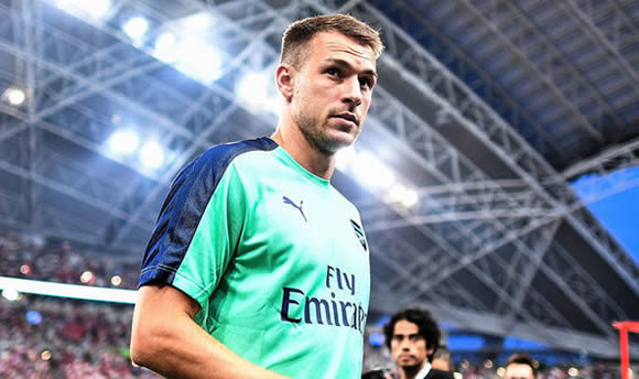 Unai Emery gives Aaron Ramsey update amid Barcelona rumours