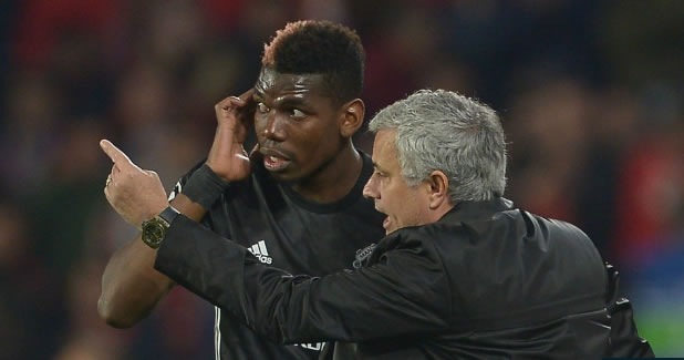 Mourinho insists Pogba is 'happy and proud' at Man Utd despite Barcelona rumours
