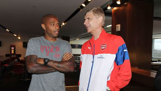 Arsene Wenger backs Thierry Henry to succeed as a coach, issues warning