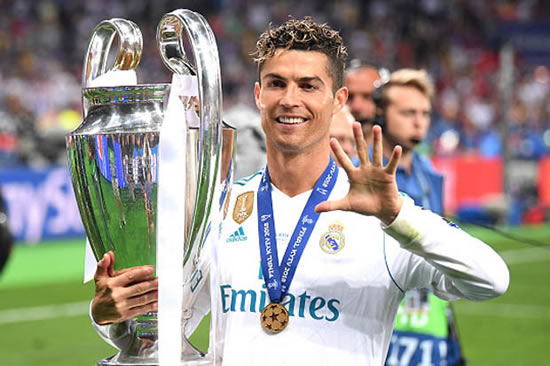 Cristiano Ronaldo at centre of shock transfer revelation - months after Real Madrid move
