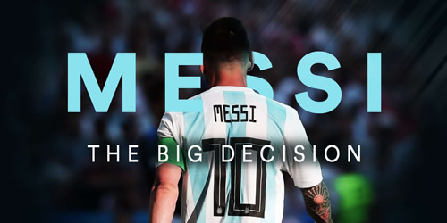 Lionel Messi has a huge decision to make about his Argentina future