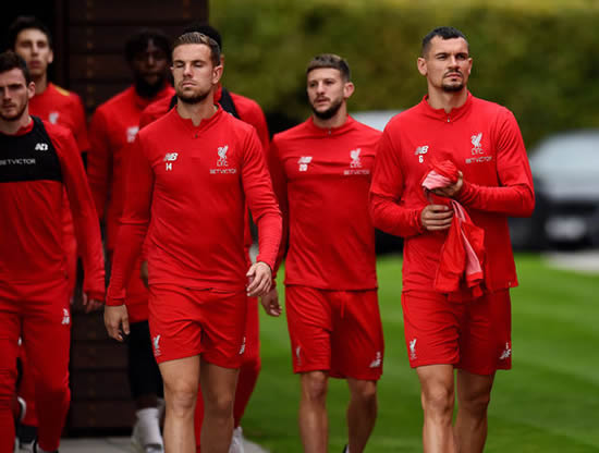 Liverpool injury worry: Van Dijk, Milner and Mane MISSING from training ahead of Chelsea