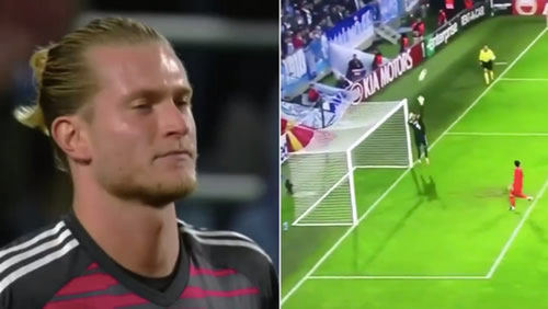 Loris Karius Makes Another Big Mistake In Europa League Tie
