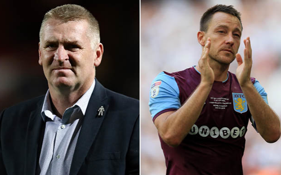 Aston Villa appoint Dean Smith as new manager, John Terry confirmed as assistant