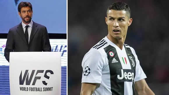 Agnelli: I spoke to Ronaldo about the rape case, looked him in the eyes and I am very calm