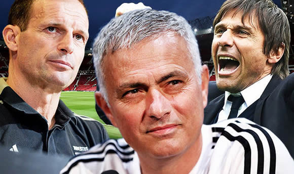 Jose Mourinho set for axe next year as Man Utd pick TWO possible replacements