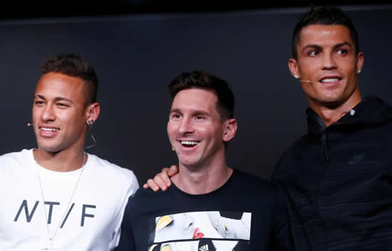 Neymar lauds 'monster' Cristiano Ronaldo as he sets sights on success of Juventus superstar and Lionel Messi