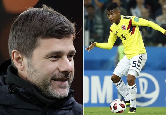 Tottenham EXCLUSIVE: Mauricio Pochettino eyeing move for Colombian superstar