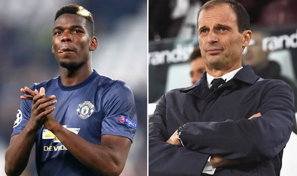 Paul Pogba makes shock Juventus admission after Champions League win