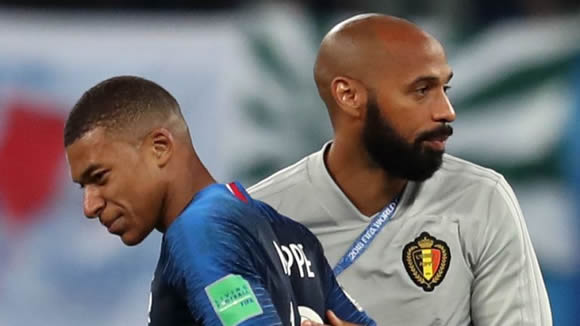 Thierry Henry wishes Kylian Mbappe stayed at Monaco