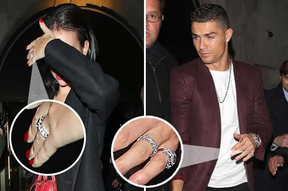 Cristiano Ronaldo set to marry after proposing to partner Georgina Rodriguez