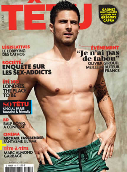 Giroud: It's impossible to declare you're homosexual in football