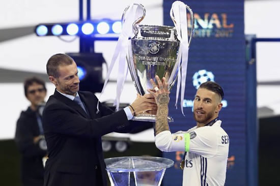 Real Madrid star Sergio Ramos 'failed drug test' after Champions League final