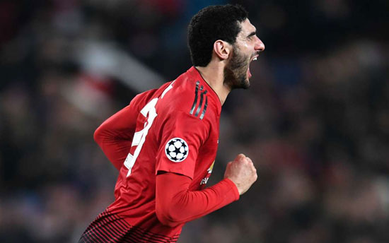 Manchester United 1 Young Boys 0: Fellaini drags dour Red Devils into knockouts