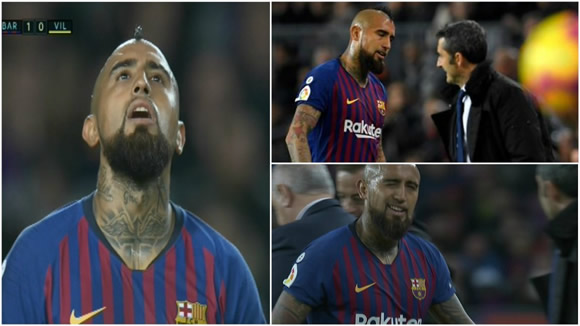 Arturo Vidal has backing of fans in war with Valverde