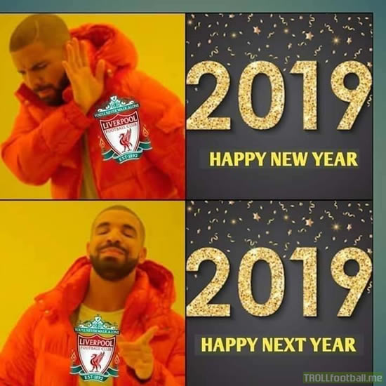 7M Daily Laugh - Liverpool: Happy Next Year?