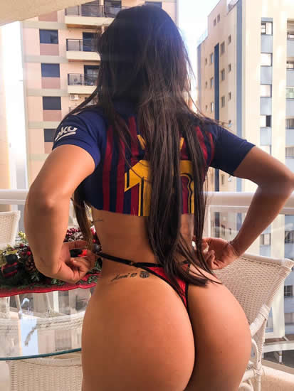 Suzy Cortez shows everlasting love for Lionel Messi with BumBum tattoo