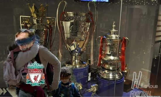 7M Daily Laugh - No look trophy for Liverpool?
