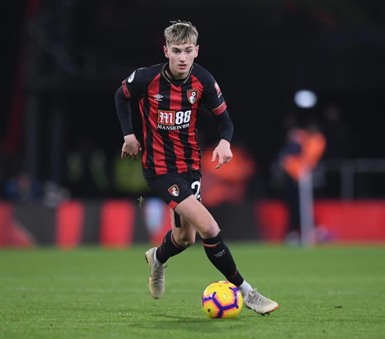 BALANCING THE BROOKS Bournemouth to offer David Brooks new deal to ward off Manchester United and Tottenham interest