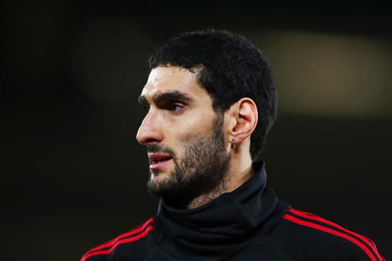 Marouane Fellaini 'on borrowed time' at Manchester United