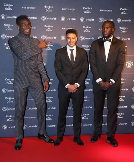 Solskjaer donates watch at Unicef Gala as Man Utd stars dress up sharp