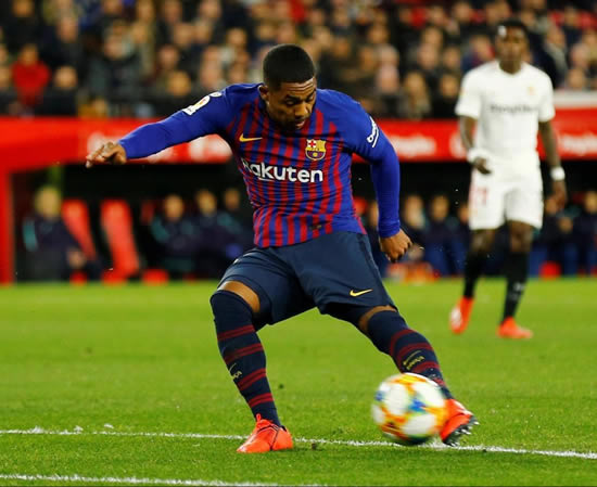 COM AND GET ME Arsenal launch loan bid for Barcelona misfit Malcom as Suarez talks stall