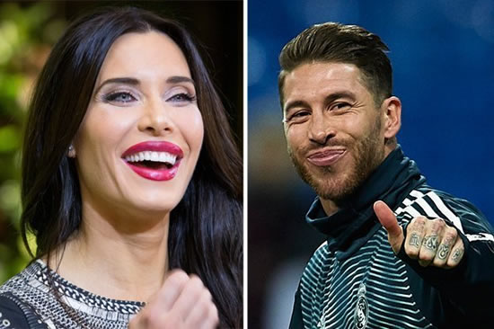 Real Madrid star Sergio Ramos engaged to 'sexiest woman in the world' Pilar Rubio