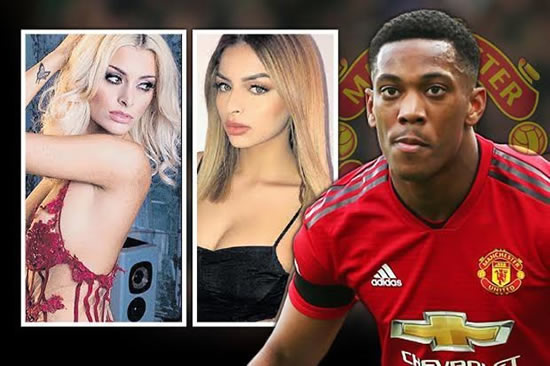 Man United star Anthony Martial 'bedded model while girlfriend was eight-months pregnant'