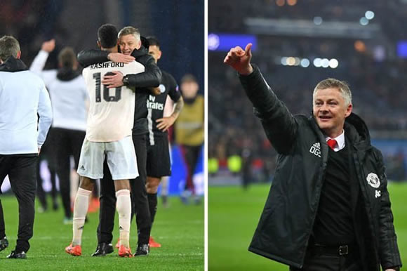 Man Utd fans make Ole Gunnar Solskjaer DEMAND after INCREDIBLE Champions League win