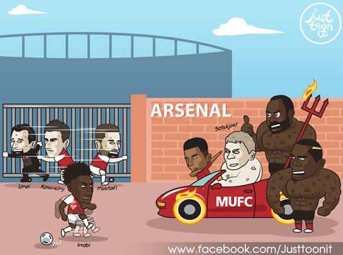 7M Daily Laugh - Is it an inevitable loss for Arsenal?