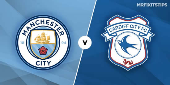 Manchester City vs Cardiff City - Sergio Aguero to sit out City's clash with Cardiff