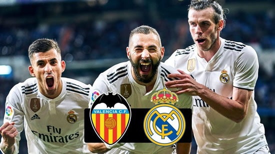 Valencia vs Real Madrid -  Zidane will solve Real Madrid goalkeeper situation before next season