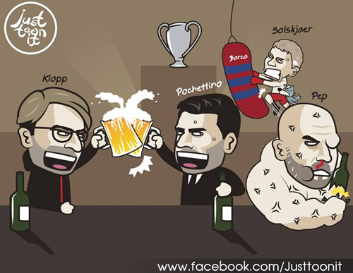 7M Daily Laugh - UCL 1st leg of their quarter-final