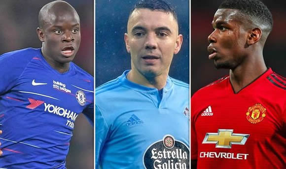 Real Madrid should sign one star instead of Paul Pogba and N'Golo Kante - Iago Aspas