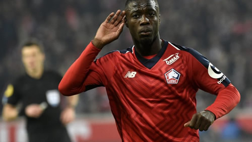 Lille confirm Nicolas Pepe is set to leave amid Arsenal and Bayern links