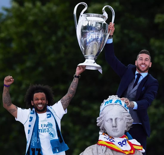 Sergio Ramos 'has painting depicting himself as Jesus Christ in Da Vinci's Last Supper painting', with Real Madrid team-mate Marcelo a disciple
