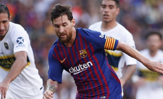 Barcelona coach Valverde: Messi ready for Man Utd