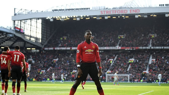 Manchester United's Pogba shock name in Team of the Year as Hazard misses out