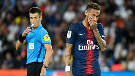 Injury-plagued Neymar has not proven value for money for PSG since €222m Barca move