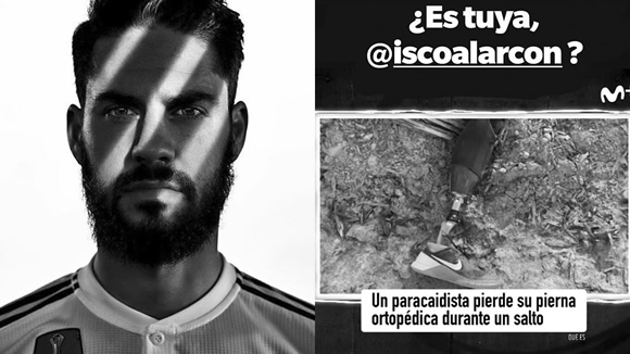 Isco the subject of jokes