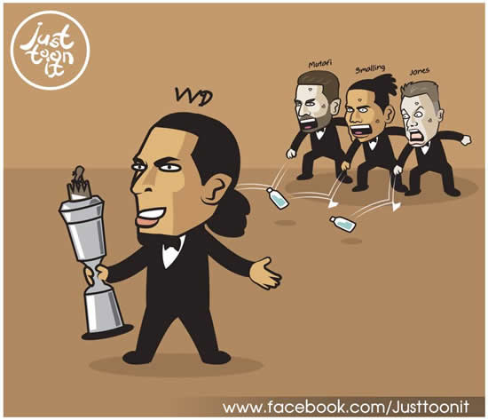 7M Daily Laugh - Congrats Virgil van Dijk!!