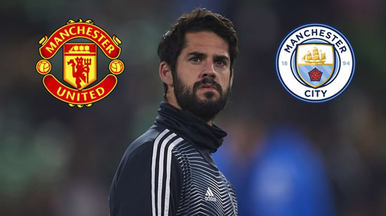 Transfer news and rumours LIVE: Man Utd and Man City to battle for €120m Isco