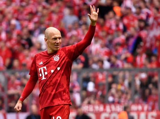OUTFOXED Leicester shock favourites to sign Arjen Robben aged 35 after he leaves Bayern Munich