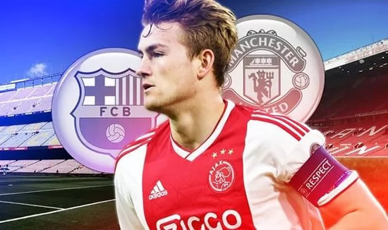 Matthijs de Ligt offers Manchester United fresh transfer hope with Barcelona comments